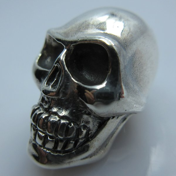 Skull #4 in .925 Sterling Silver by GD Skulls