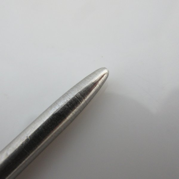 "4"" 45 Degree Type II Stainless Steel Stitching Needle"