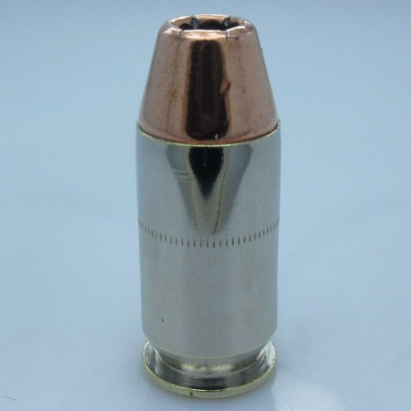 .45 Auto Bullet Bead In Nickel & Copper By Bullet Beadz