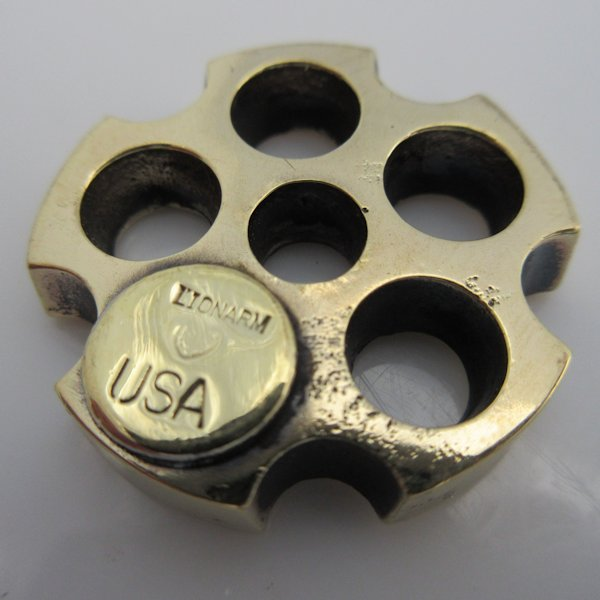 5 Shooter in Brass by Lion ARMory