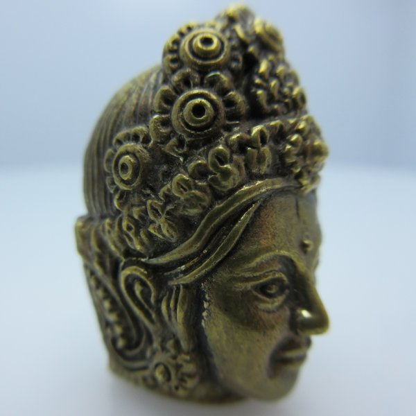 Apsara in Brass by Santi-Se