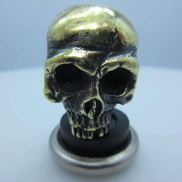 Ancient Skull in Brass by Lion ARMory