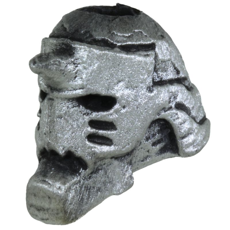 Alchemist Alphonse Bead in Pewter by Marco Magallona
