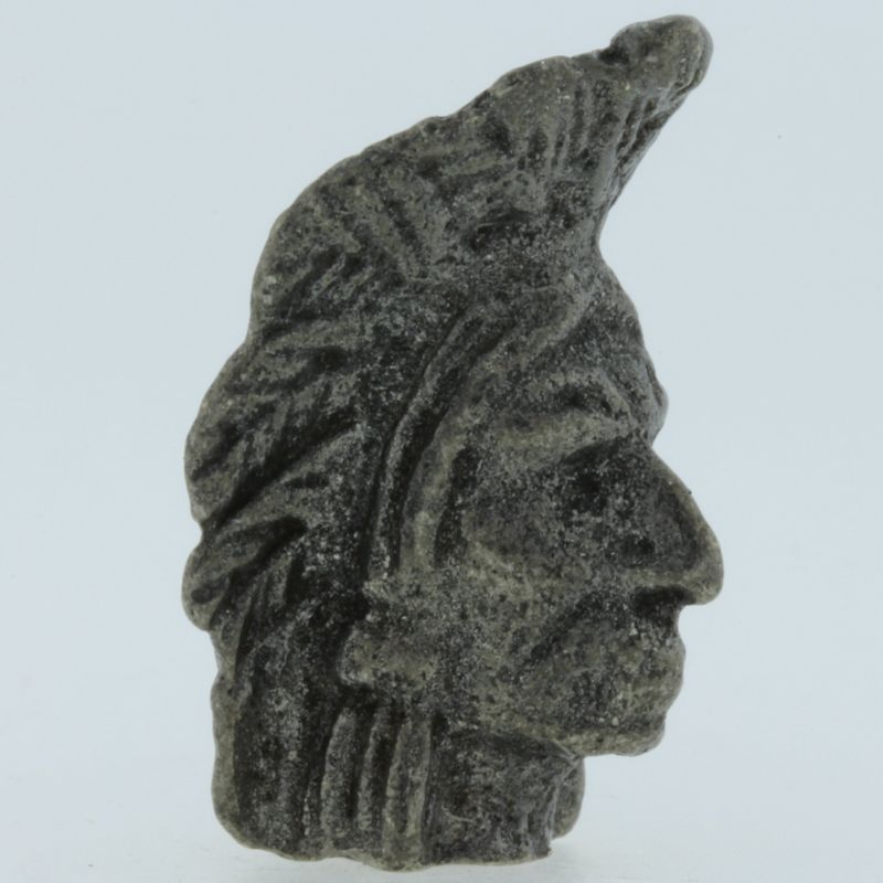 Apache Bead in Pewter by Marco Magallona