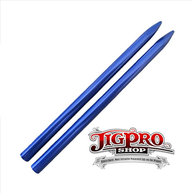"3 1/2"" EZ Lace 550lb Stitching Needles ~ Blue"