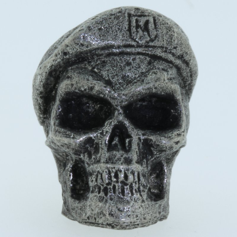 Beret Bead in Pewter by Marco Magallona