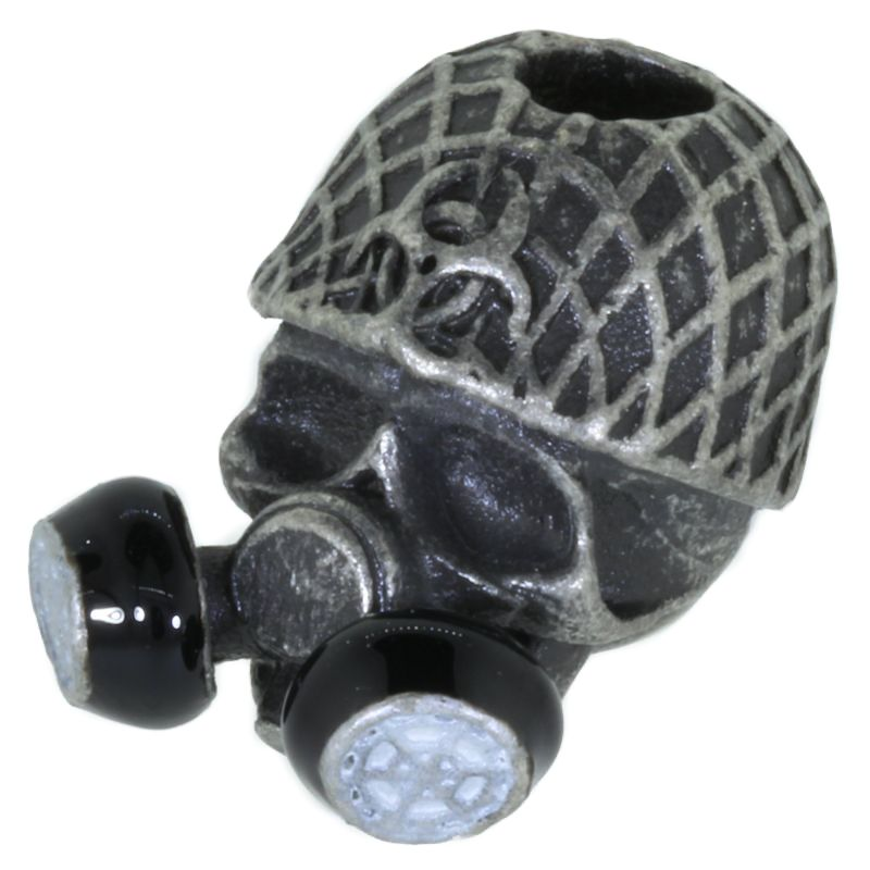 Biohazard Gas Mask By Bad Azz Beads