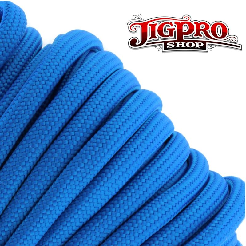 Blue 550# Type III Paracord 100\' S02