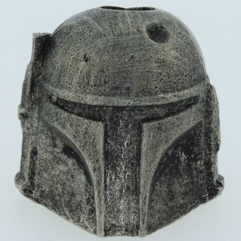 Boba Fett Bead in Pewter by Marco Magallona