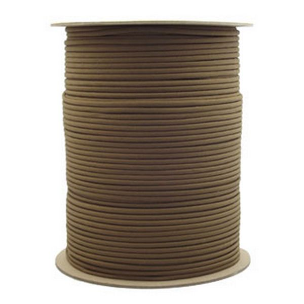 Brown 550# Type III Paracord 1000' Spool SS07