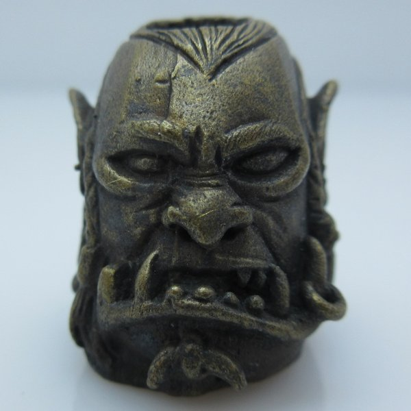 Orc Warrior in Brass by Covenant Everyday Gear