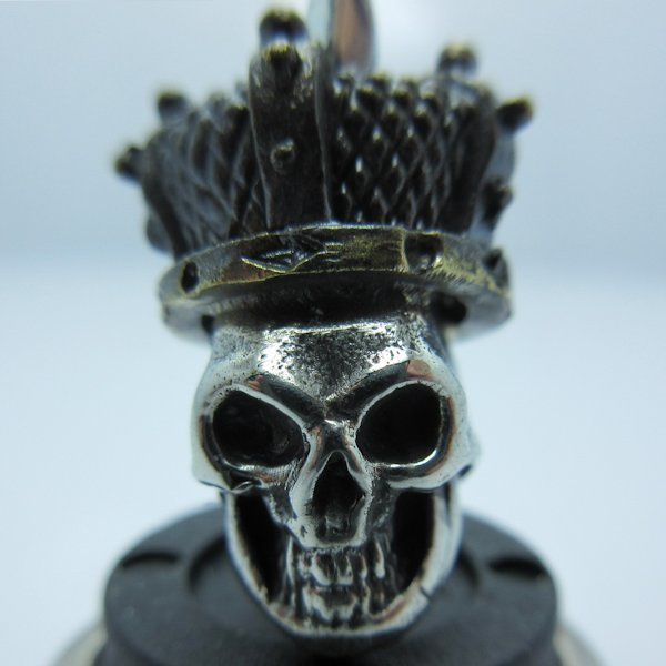 Queen of the Dead in Brass/White Brass (Black Patina Crown) by Covenant Everyday Gear