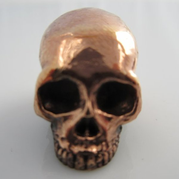 Classic Skull in Copper by Lion ARMory