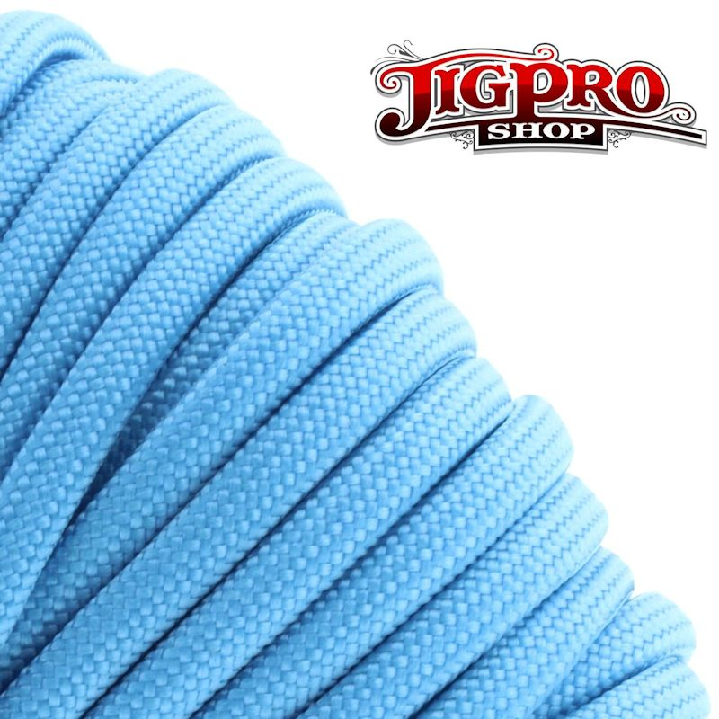 Carolina Blue 550# Type III Paracord 100' S21