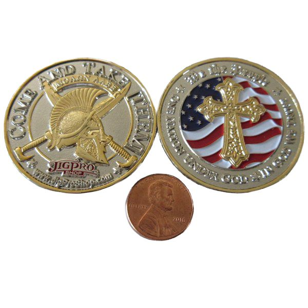 American Patriot Challenge Coin - Click Image to Close
