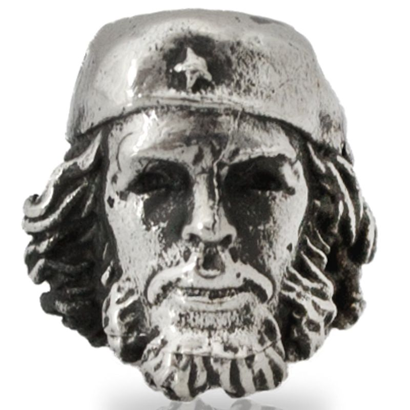 Che Guevara in Nickel Silver By Comrade Kogut