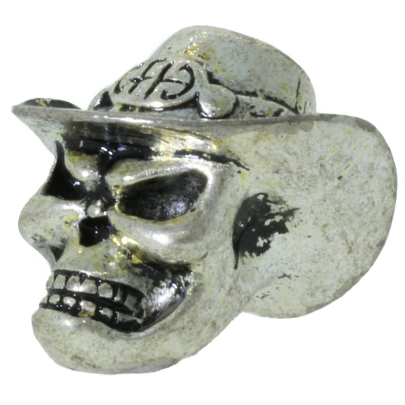 Cowboy Skull By Bad Azz Beads