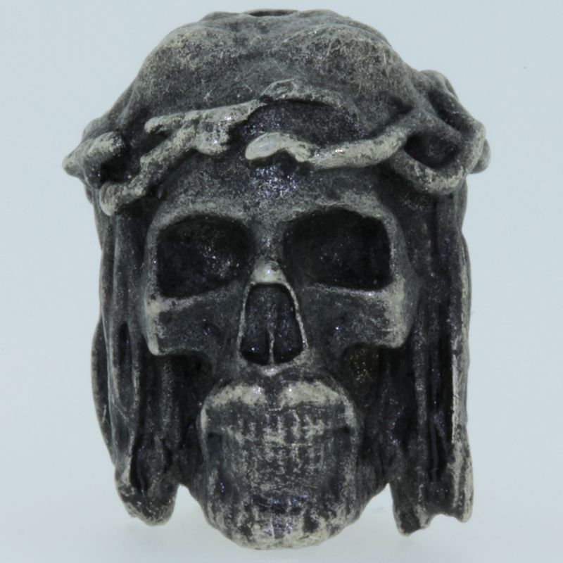 Crown of Thorns Bead in Pewter by Marco Magallona