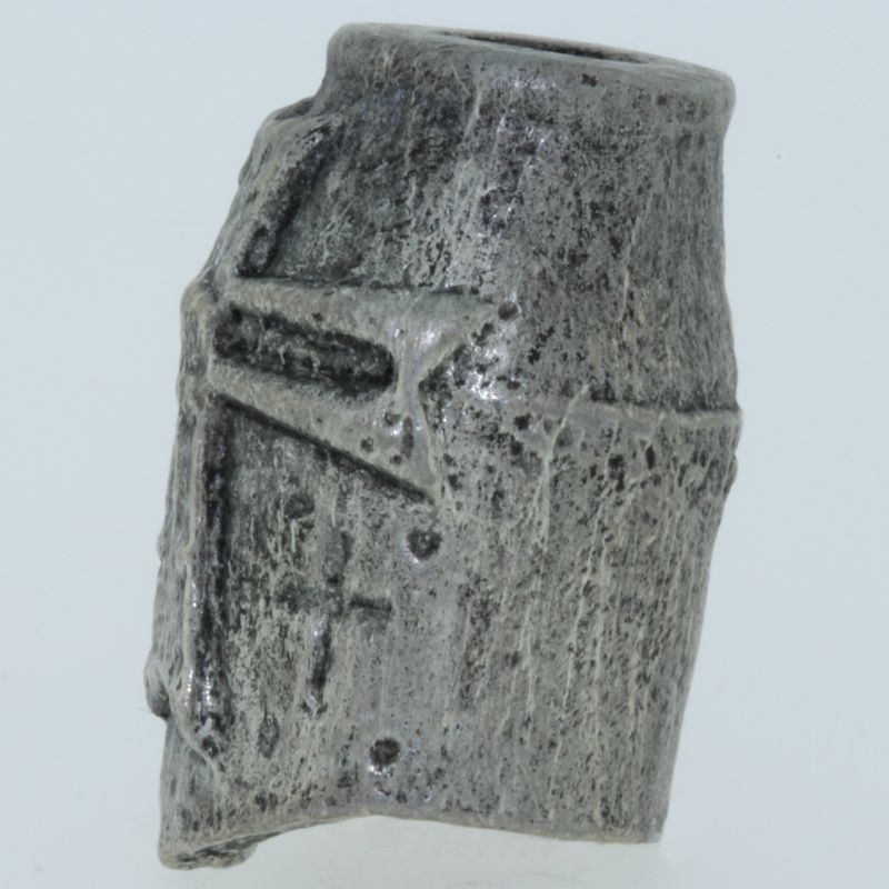 Crusader Bead in Pewter by Marco Magallona