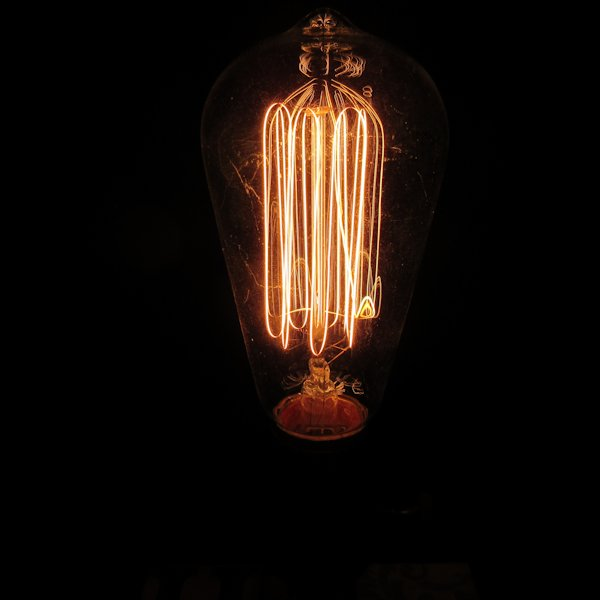 Edison Box Lamp #1