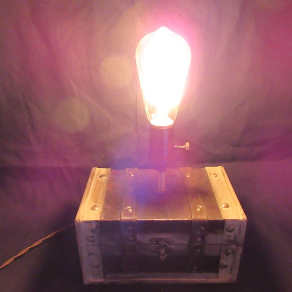 Edison Box Lamp #3