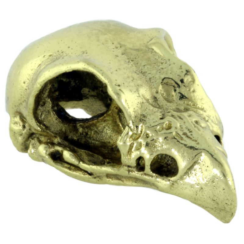 Eagle Skull in Brass by Covenant Everyday Gear