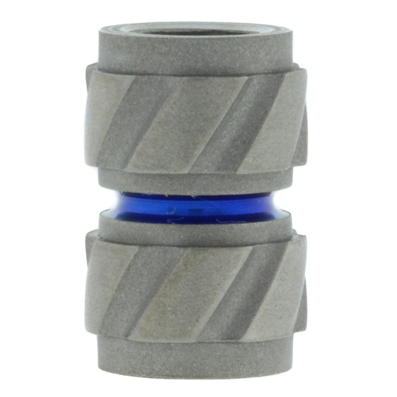 "Gear ""A"" Bead in Titanium By Afet"