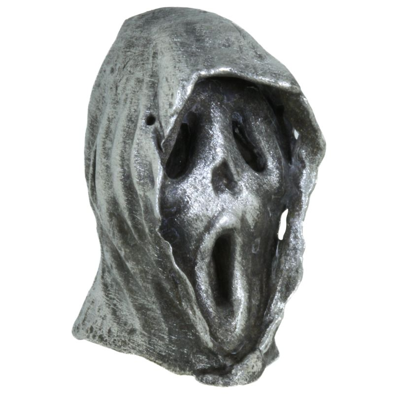 Ghost Face Bead in Pewter by Marco Magallona