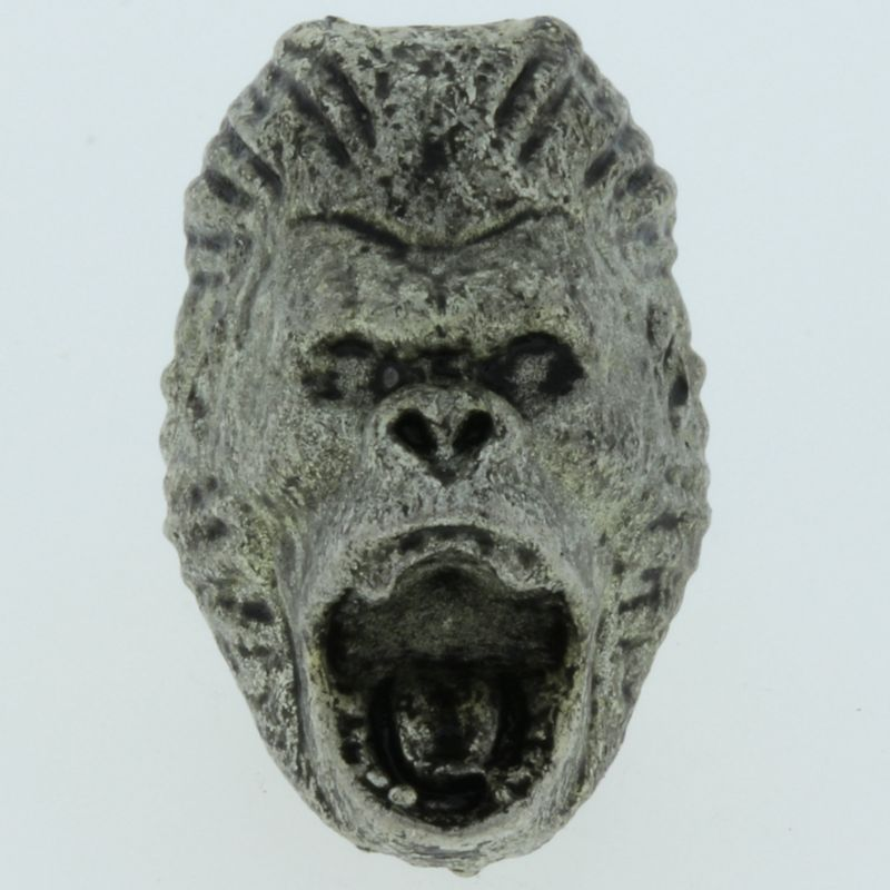Gorilla Bead in Pewter by Marco Magallona