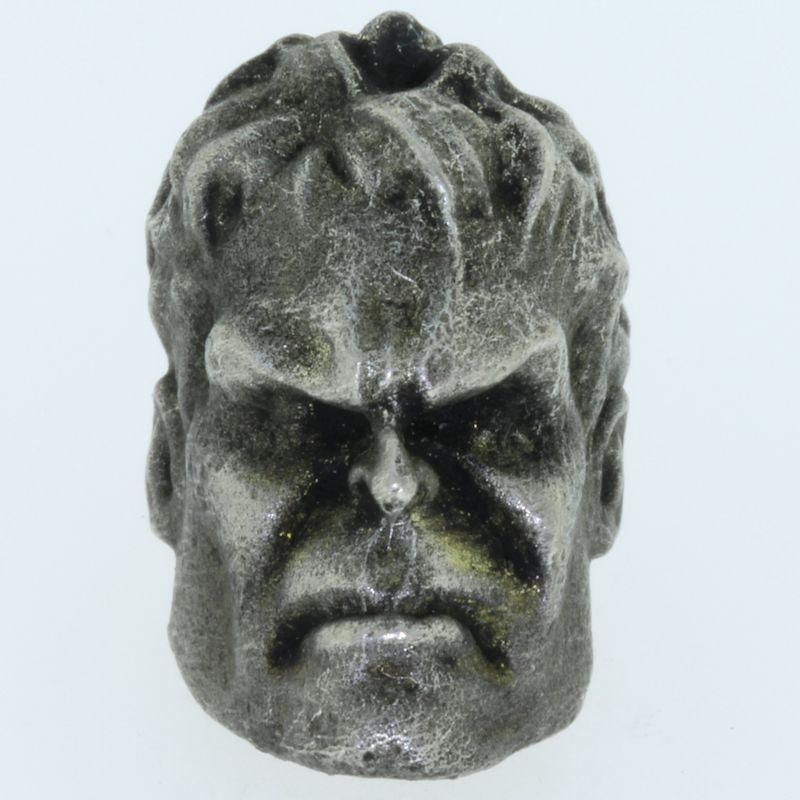 Hulk Bead in Pewter by Marco Magallona