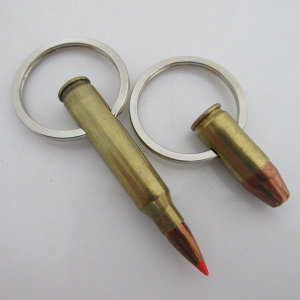 Bullet Key Chains (Pair)