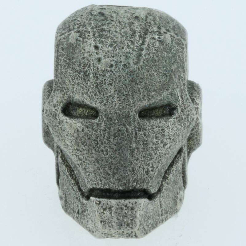 Ironman Bead in Pewter by Marco Magallona