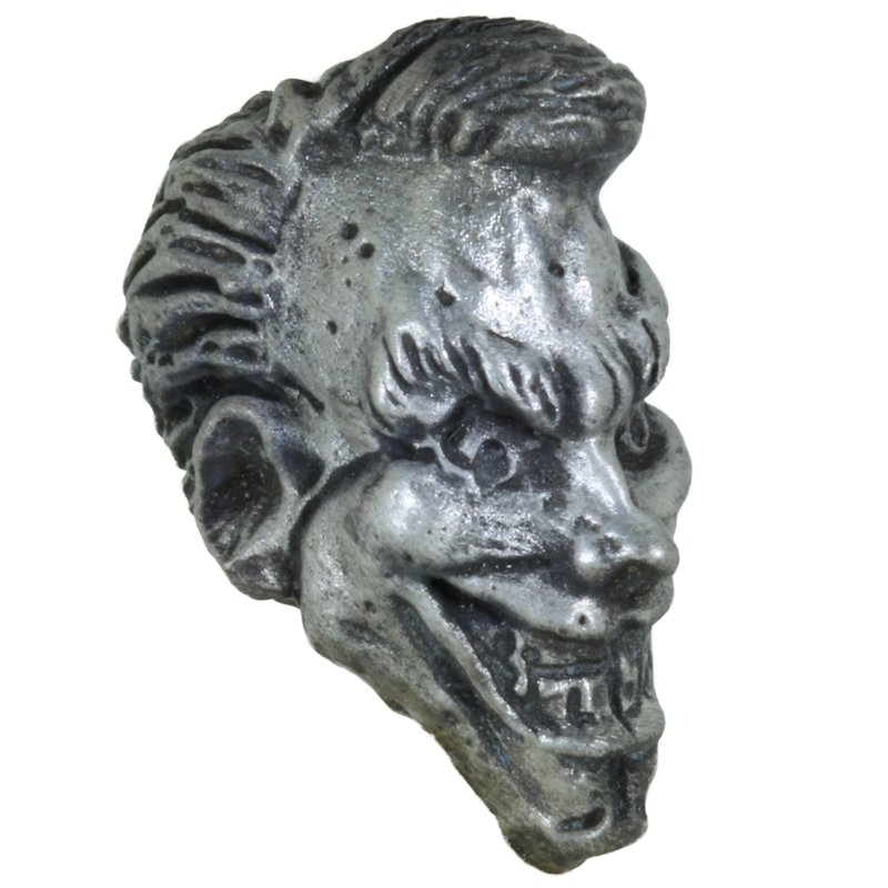 Joker Bead in Pewter by Marco Magallona