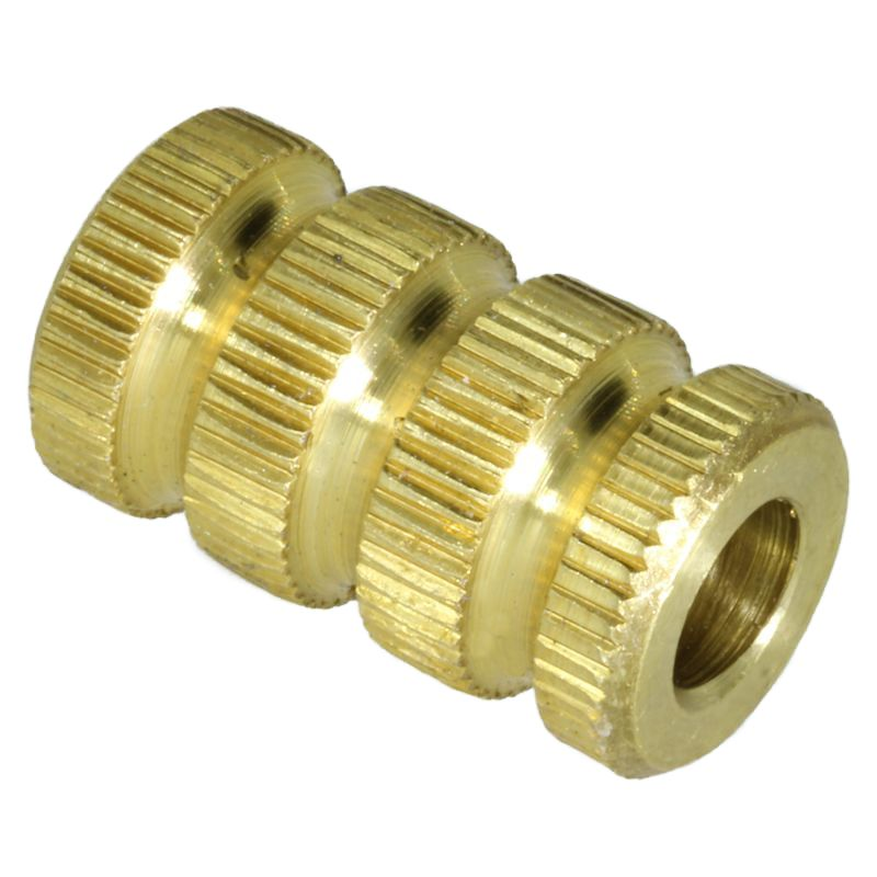 Knurl Crazy in Brass By Almost EDC