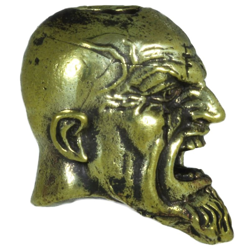 Kratos in Brass By Comrade Kogut