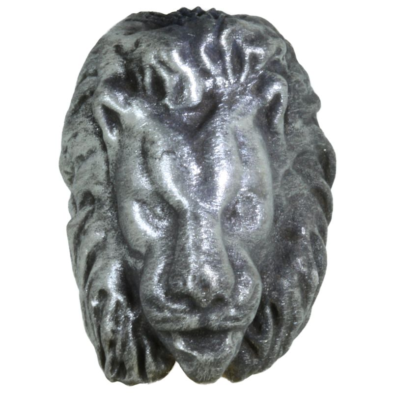 Lion Bead in Pewter by Marco Magallona