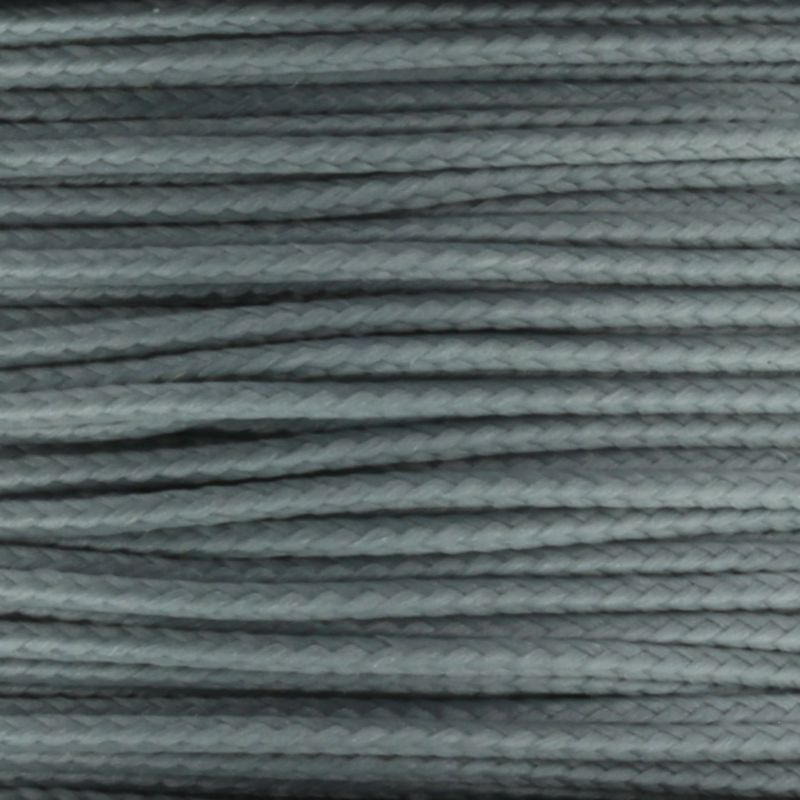 Grey Micro Cord 1.18mm x 125' MS12
