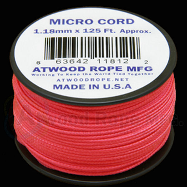Micro Cord Pink 1.18mm x 125' MS16