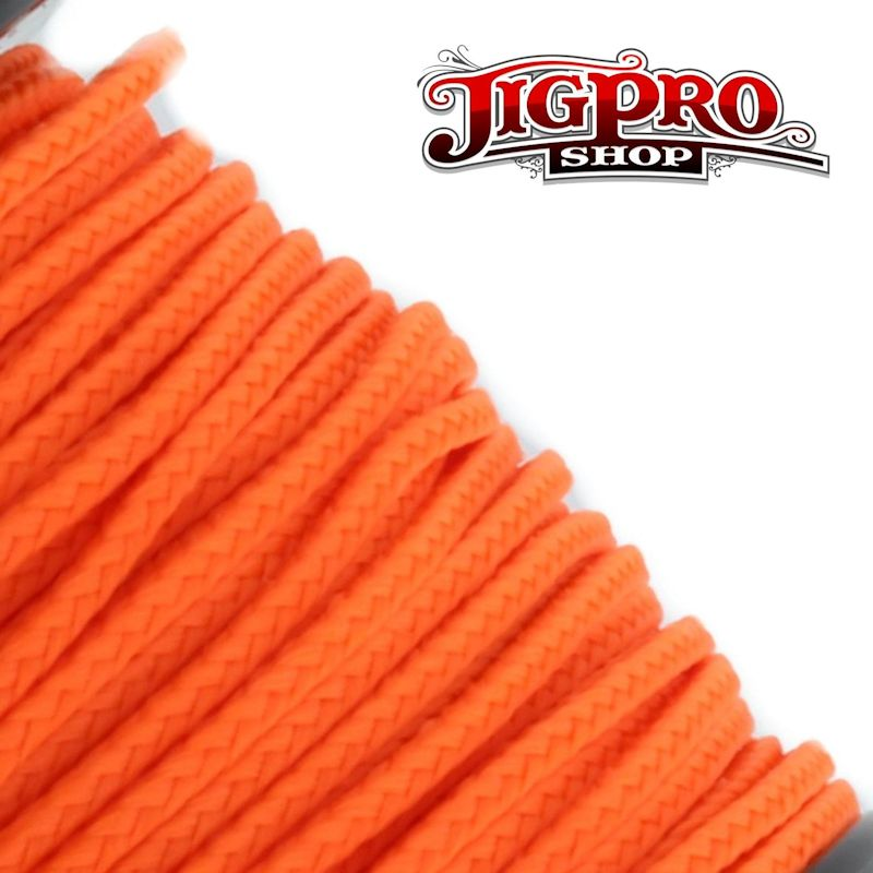 Neon Orange Micro Cord 1.18mm x 125\' MS17
