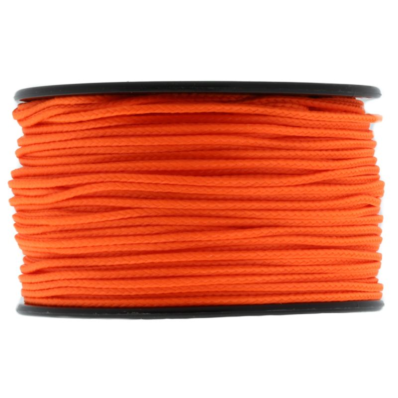 Neon Orange Micro Cord 1.18mm x 125' MS17