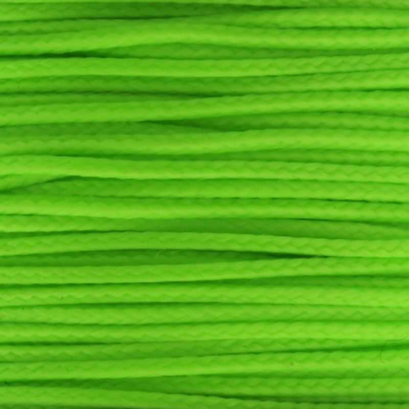 Neon Green Micro Cord 1.18mm x 125' MS18