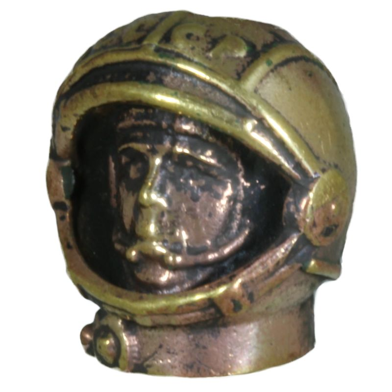 Man in Space in Brass By Comrade Kogut