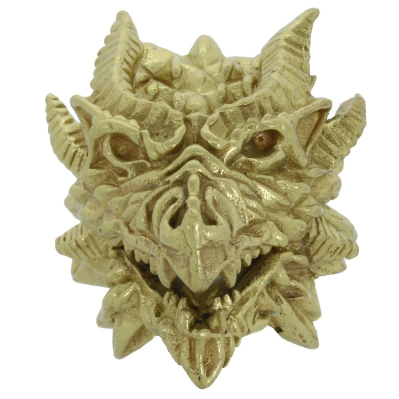 Medieval Dragon in Brass by Covenant Everyday Gear