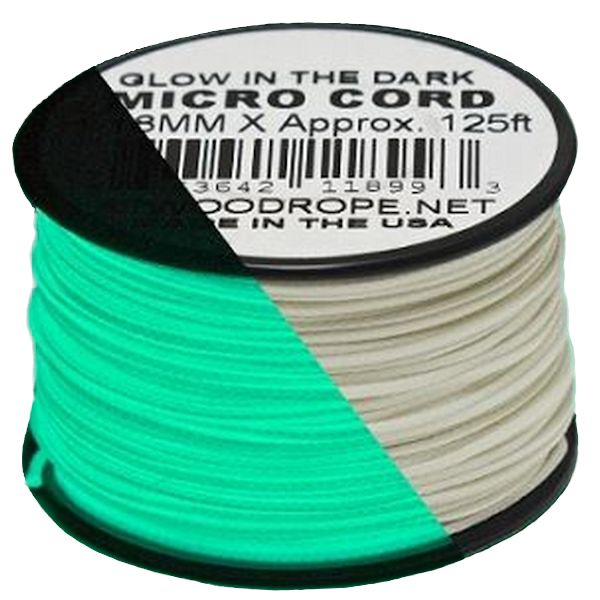 Glow-In-The-Dark Micro Cord 1.18mm x 125'