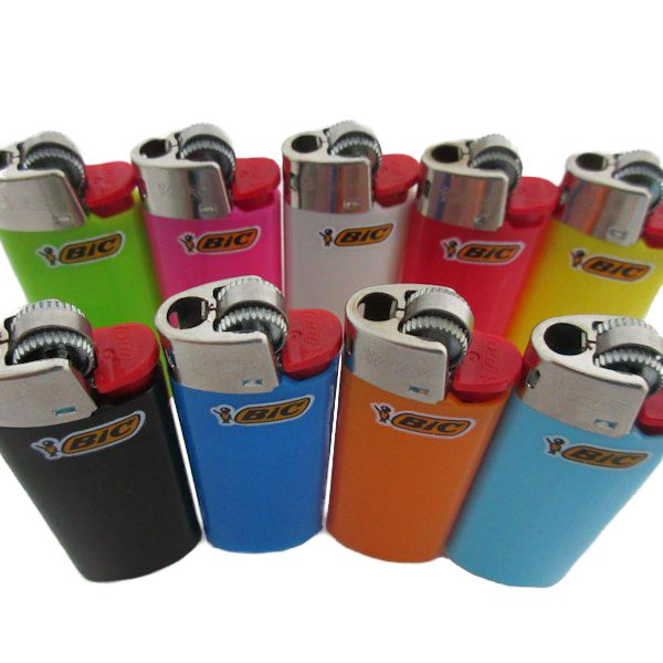 Set of (5) New Mini Bic Lighters