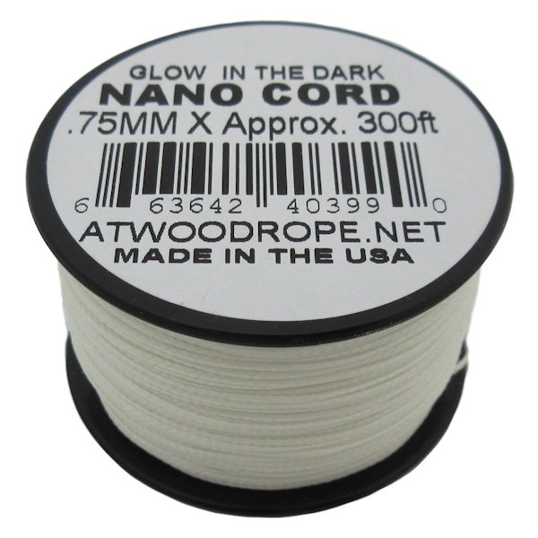 Glow-In-The Dark Nano Cord 0.75mm x 300'