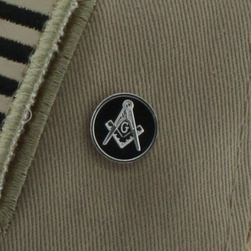 Freemason .999 Pure Silver 1 Gram Pin By Barter Wear