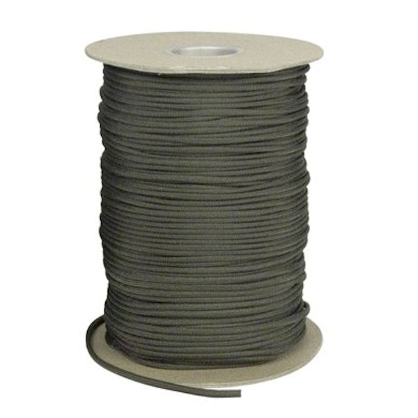 Olive Drab 550# Type III Paracord 1000' Spool SS14
