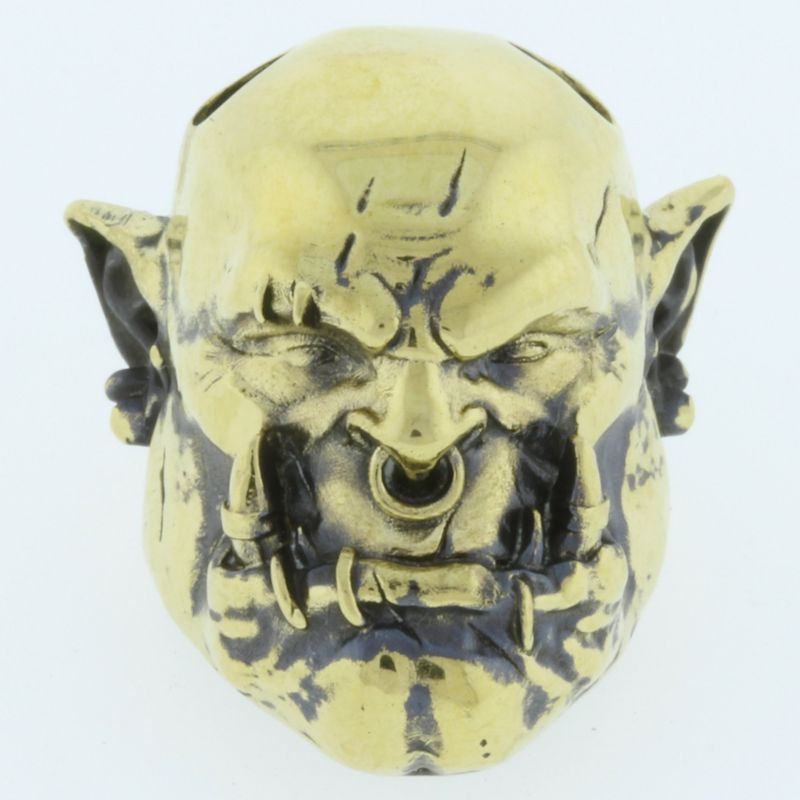 Orc in Brass By Castings Pride