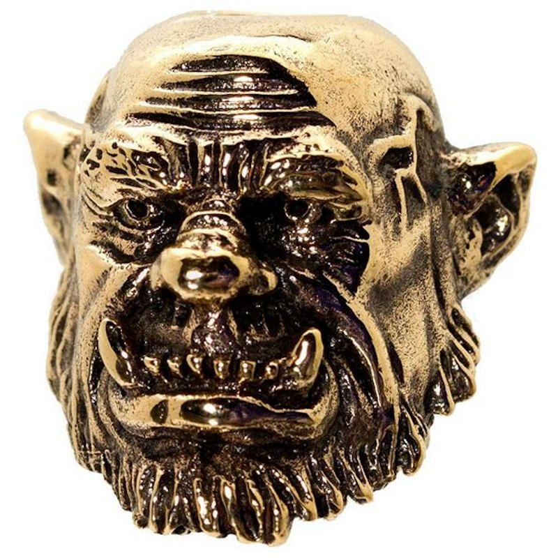 Orge in Bronze by GD Skulls